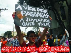 Abertura da CF 2013 Regiao Brasilandia