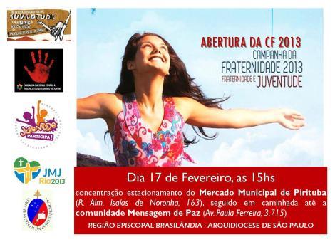PJ Brasilandia - Convite Abertura CF 2013