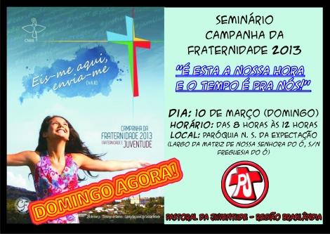 Cartaz Seminario sobre Juventude 10.03
