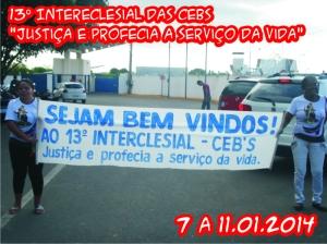 13º Intereclesial de CEBs - 6 à 12.01.2014