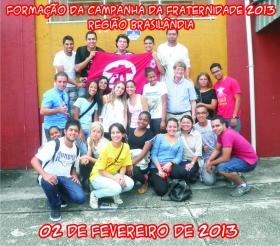 Formação da Campanha da Fraternidade 2013