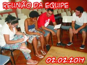 Reunião da Equipe - 02.02.2014