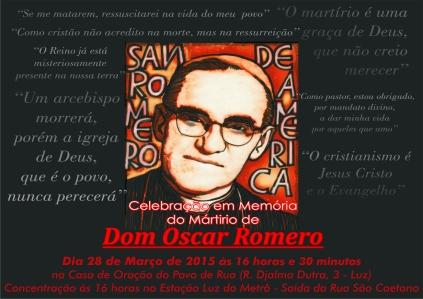 Cartaz Romero