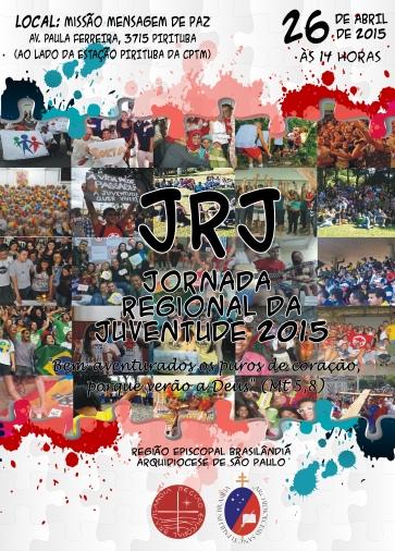 JRJ 2015 Regiao Brasilandia - Cartaz, 26.04
